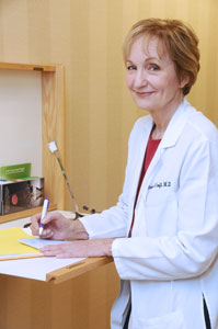Dr. Barbara Croft provides medical services at Piedmont OBGYN
